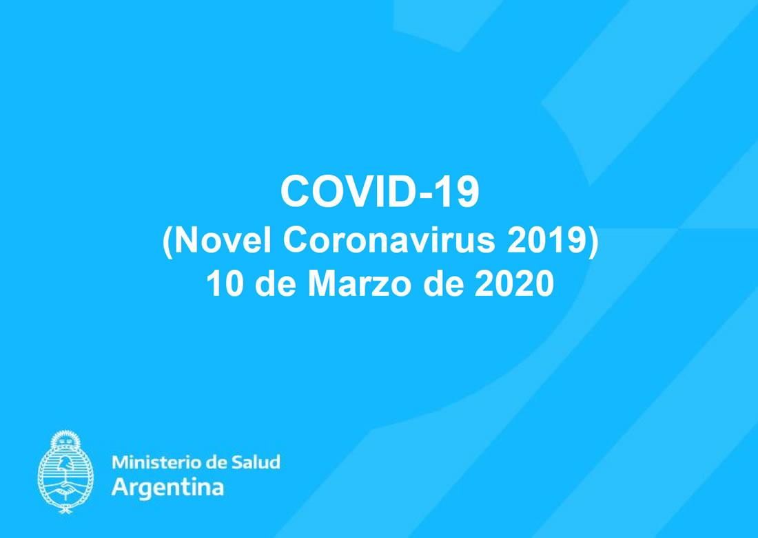 COVID-19 Argentina Marzo 2020